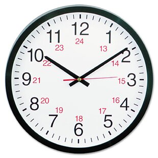 24 Inch Round Wall Clock Wayfair