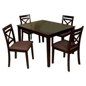 Easton 5 Piece Dining Set by Hokku Designs