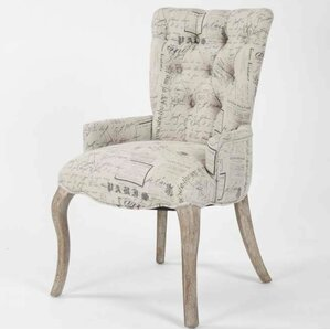 Gherardo Tufted Armchair by One Allium Way