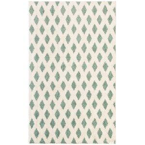 Norvell Beige/Green Area Rug