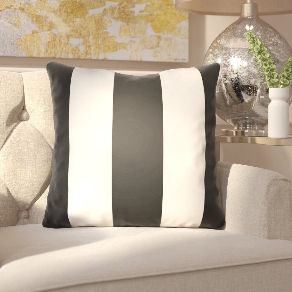 Black And White Stripe Pillows Coffee Tables Ideas