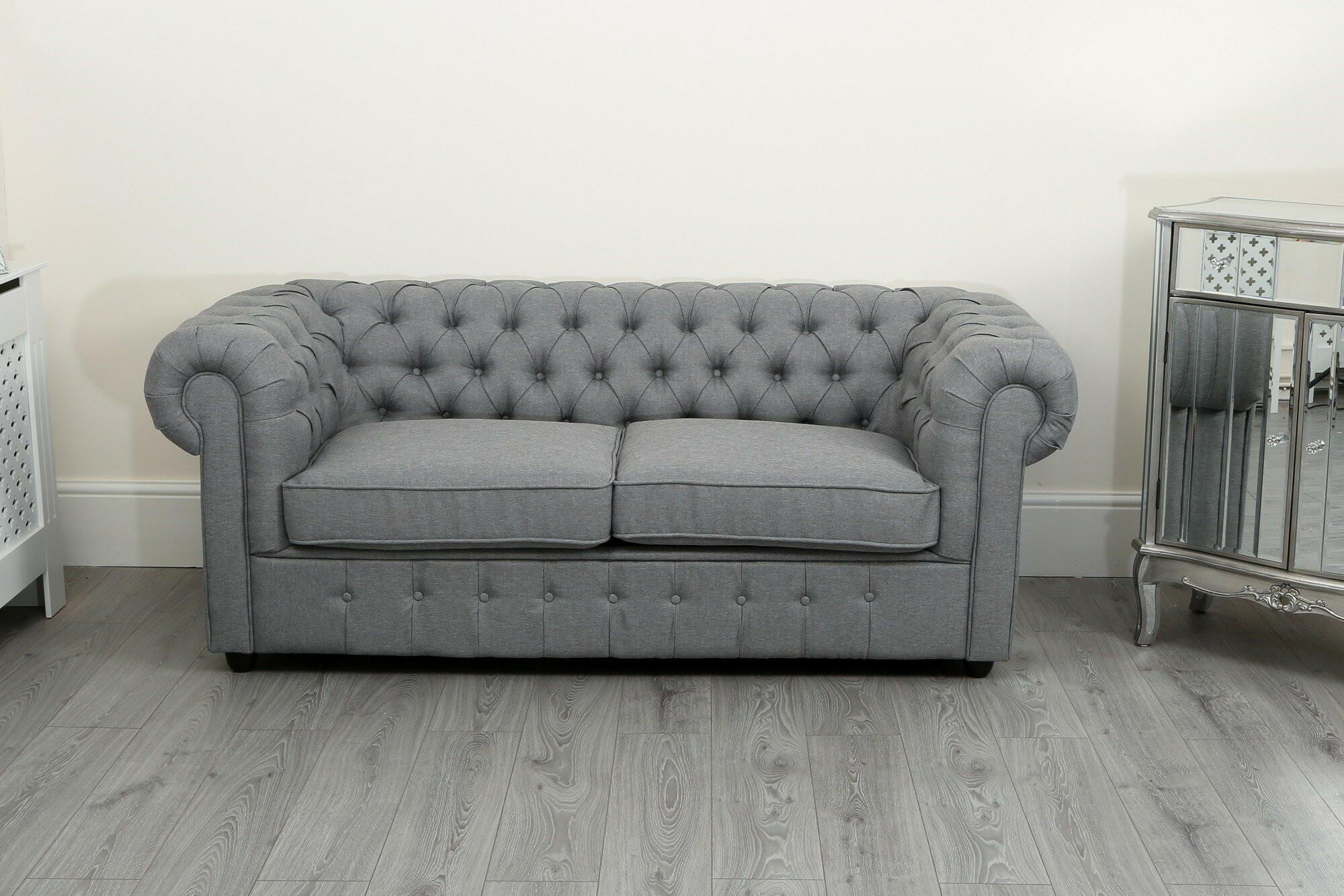 Marlow Home Co Dunston 2 Seater Chesterfield Sofa Wayfair Co Uk