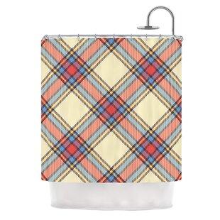 Sunday Brunch Plaid Tartan Shower Curtain
