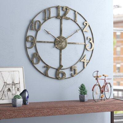 wall clocks you 39 ll love wayfair. Black Bedroom Furniture Sets. Home Design Ideas