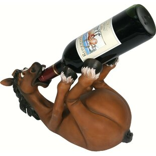 Sotelo Horse 1 Tabletop Wine Bottle Rack