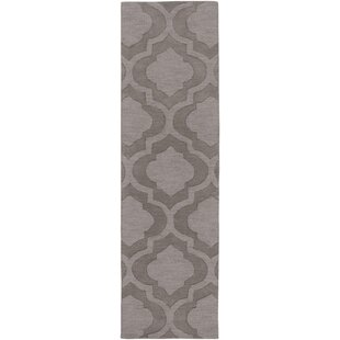 Castro Hand Woven Wool Charcoal Area Rug