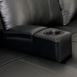 Removable Home Theater Armrest with Storage by Ebern Designs