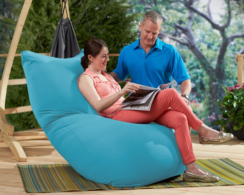 yogibo bean bag lounger wayfair