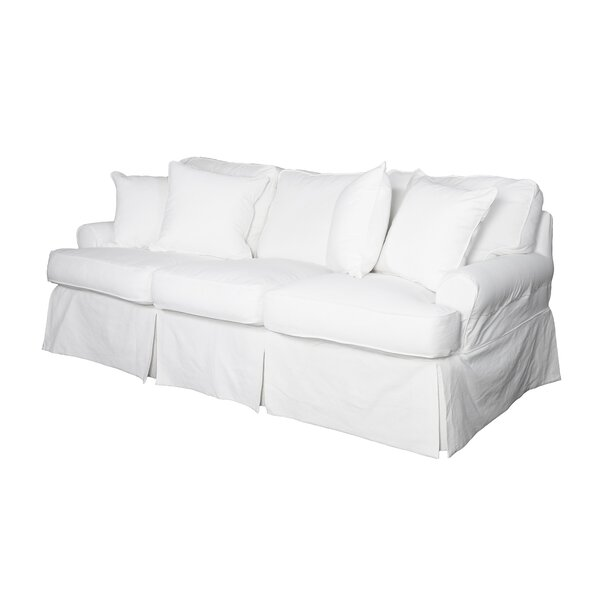 Beachcrest Home C Gables T Cushion Sofa Slipcover Reviews Wayfair