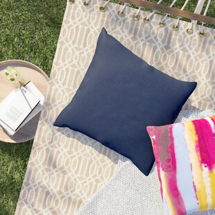 Purchase Online Crispin Sunbrella Solid Outdoor Throw Pillow Sol 72 Outdoor
