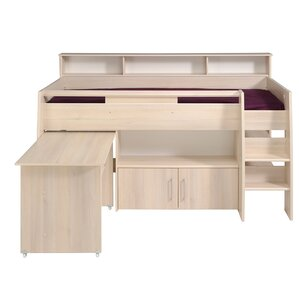 Hurt Midsleeper Twin Mate Bed by Parisot
