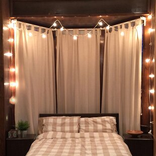 25 light globe string lights - Bedroom String Lights