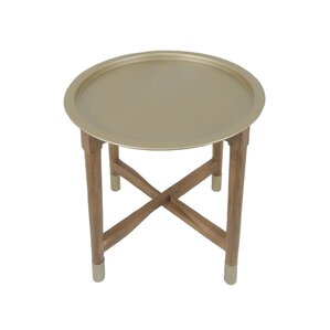 Reisman Tray Top End Table by Varick Gallery
