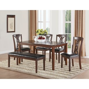 Downer 6 Piece Dining Set
