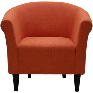 Bon Burnt Orange Accent Chair | Wayfair