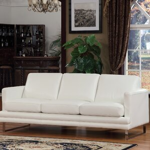 Leather Sofa by Lazzaro Leather