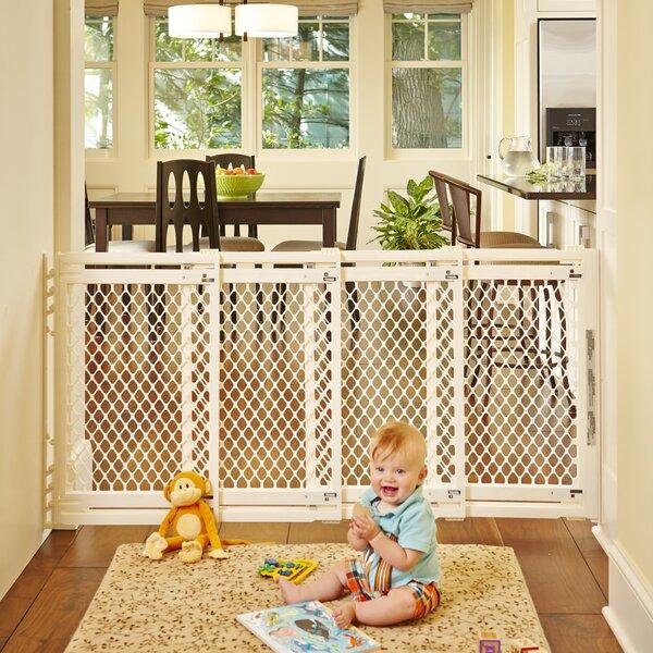 Extra Wide Baby Gate Pressure Mounted Wayfair