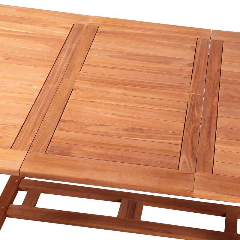 kampen living ausziehbarer esstisch bertine aus holz bewertungen. Black Bedroom Furniture Sets. Home Design Ideas
