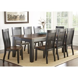 Griffey 9 Piece Dining Set by Three Posts