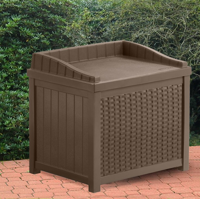 Garden Sheds 6x7: Suncast Rattan Storage Cube & Reviews