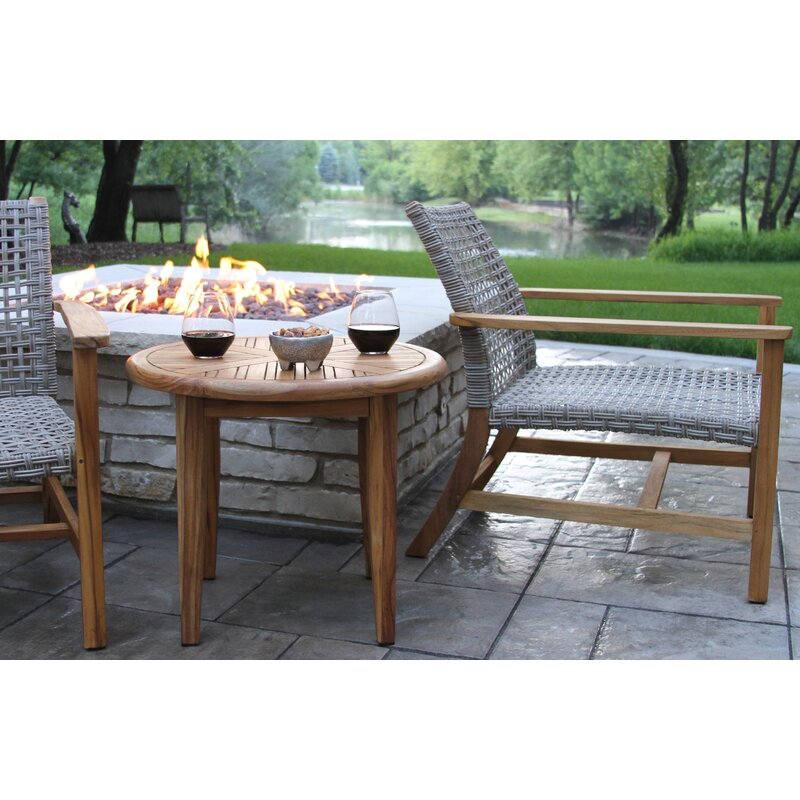 Tibbitts Teak Patio Chair Reviews Allmodern