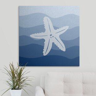 Starfish Underwater Nursery Graphic Art Print