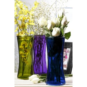 Glass Flower Vase (Set of 6)