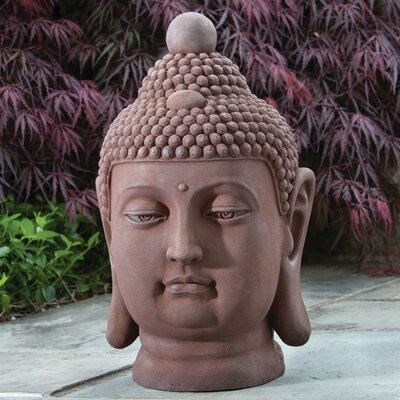 Alfresco Home Buddha Bust Statue