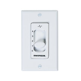 Ceiling Fan Wall Switch Ceiling fan remotes wall controls youll love wayfair four speed ceiling fan slide wall control audiocablefo