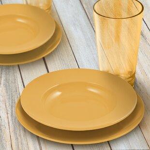 Save  sc 1 st  Joss u0026 Main & Yellow Dinnerware Sets u0026 Place Settings | Joss u0026 Main