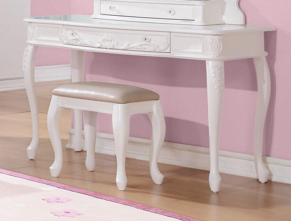vanity desk. Whitney Vanity Desk Viv  Rae Reviews Wayfair