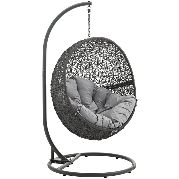Wicker/Rattan Swing Chairs U0026 Hammock Chairs Youu0027ll Love | Wayfair