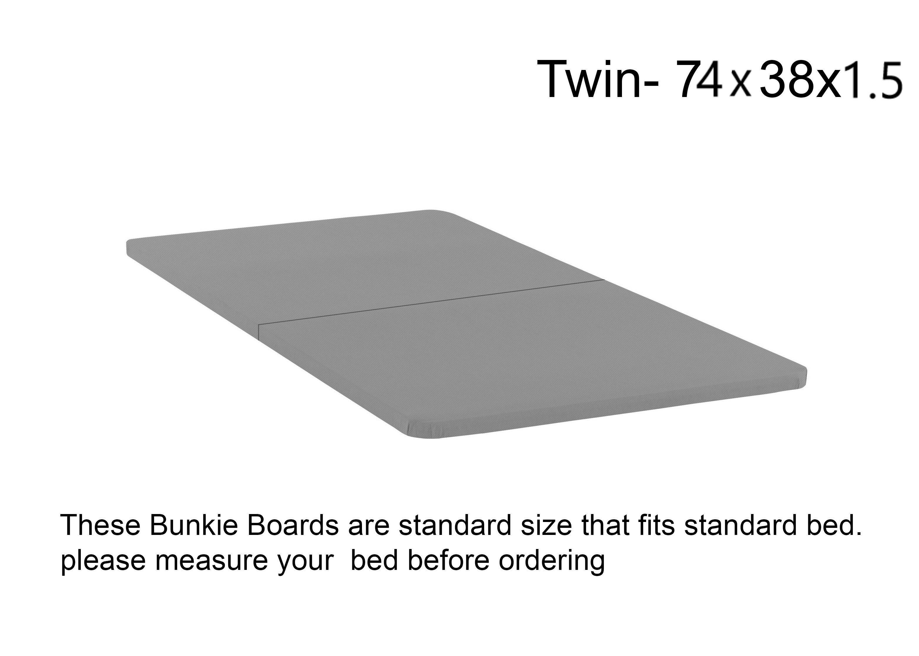 Alwyn Home Audra Folding Wood Bunkie Board
