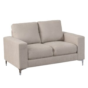 Hermia Chenille Loveseat by Orren Ellis