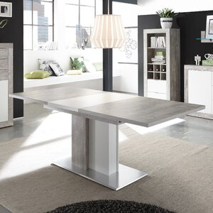 save to idea board - White Extending Dining Table