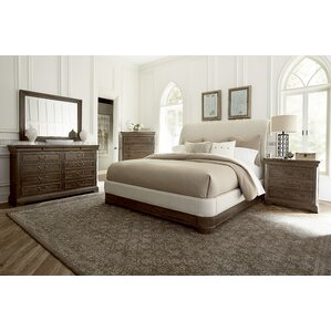 Pond Brook Upholstered Panel Bed by Darby Home Co