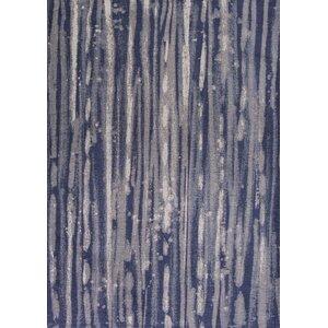 Edison Navy Blue/Ivory Area Rug