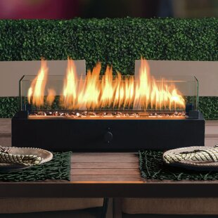 Exceptional Lara Steel Propane Tabletop Fireplace