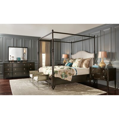sutton house king canopy configurable bedroom set - Marble Canopy 2015