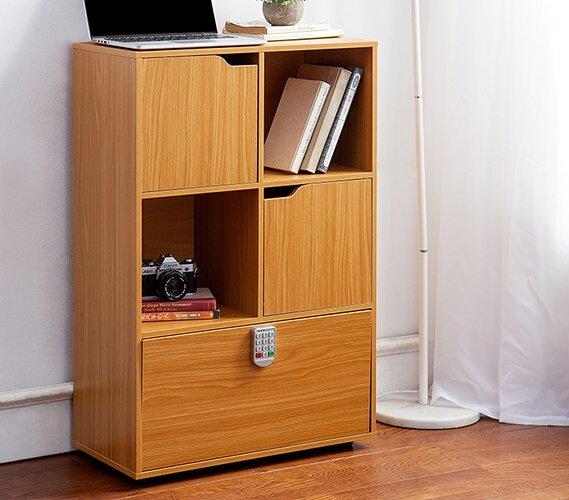 Bookcase With Locking Doors