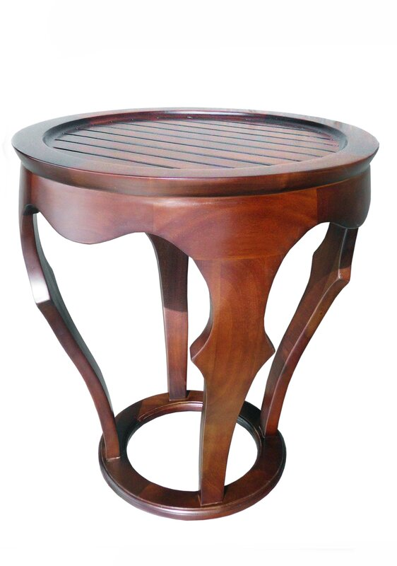 Baronnes Curved End Table