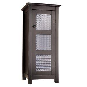 Casselman Floor Glass 1 Door Accent Cabinet