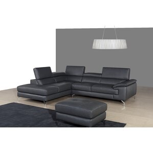 Chambersburg Leather Reclining Sectional by ..