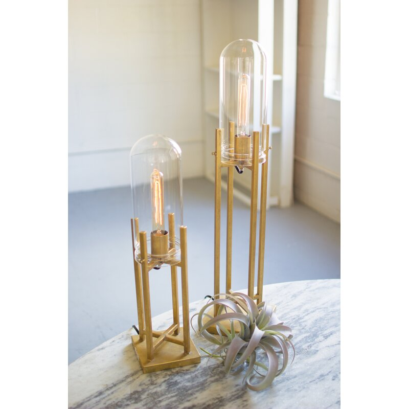 Ordinaire Morgana Glass Dome Novelty Table Lamp