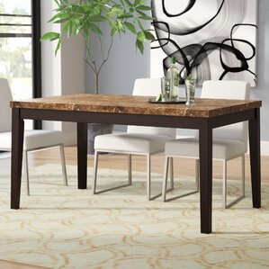Shrutika Contemporary Rectangular Dining Table by Orren Ellis