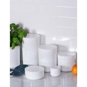 Great Contemporary 3 Piece Kitchen Canister Set
