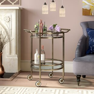 Walferdange Round Bar Cart