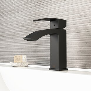 Black Bathroom Sink Faucets Youll Love Wayfair - Black single hole bathroom faucet