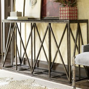 wellison metal frame console table - Metal Console Table