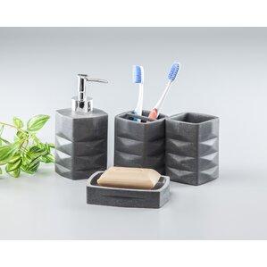 Mosaic Bathroom Accessories Wayfair - Turquoise and grey bathroom accessories